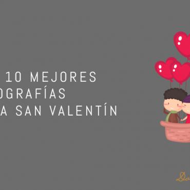 Las 10 mejores tipografías para San Valentín