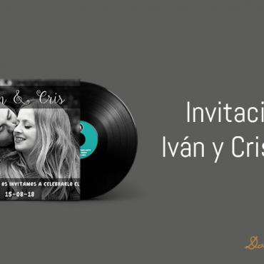 Invitación de Iván & Cristina